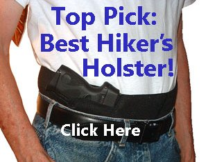 Best gun holster for hikers and joggers